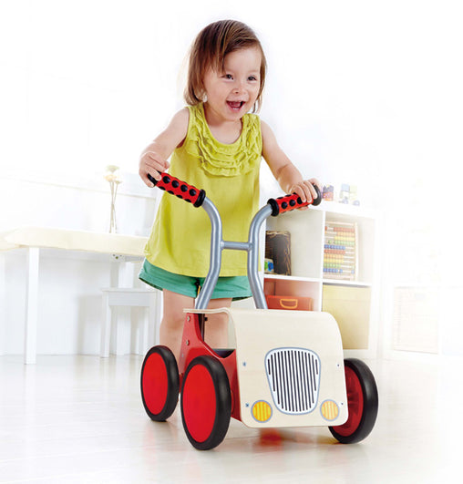 Hape, Little Red Rider Ride-On and Walker 3