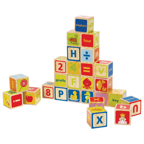 Hape ABC Wooden Building Blocks
