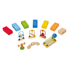 Hape Dynamo Dominoes Contents