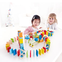 Hape Dynamo Dominoes Children Playing
