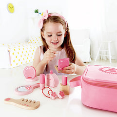 Hape Beauty Belongings Set Girl Playing