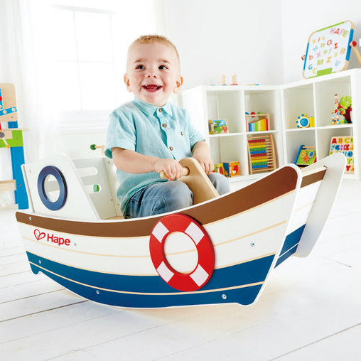 Hape High Seas Rocker Ride On Boy