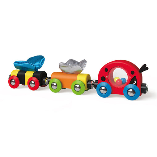 Hape Lucky Ladybug and Friends Train