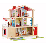 Doll Family Mansion Wooden Doll House