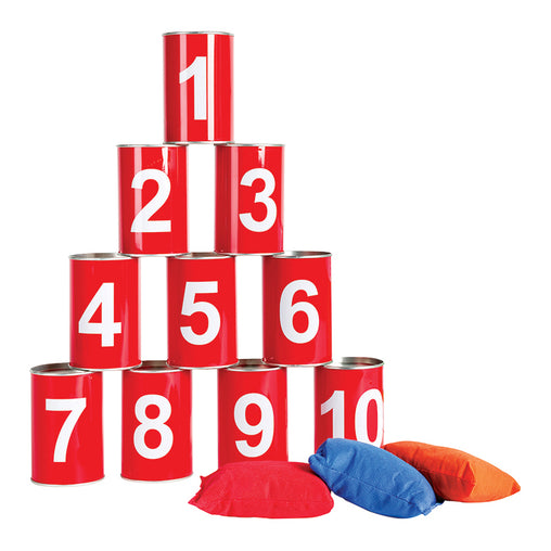 BS Toys Tin Throwing Numbers Game