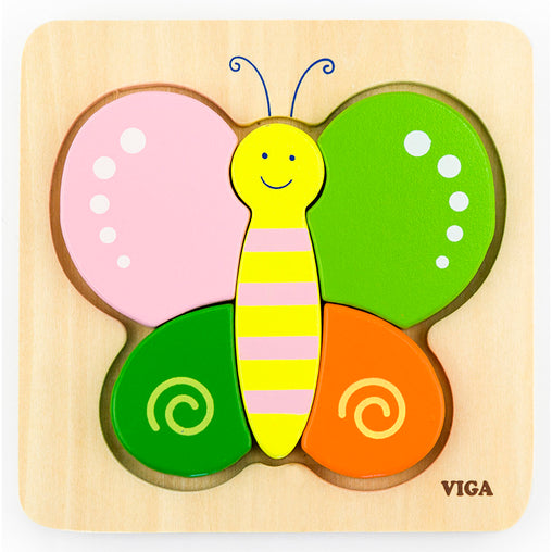 Viga Mini Block Puzzle Butterfly