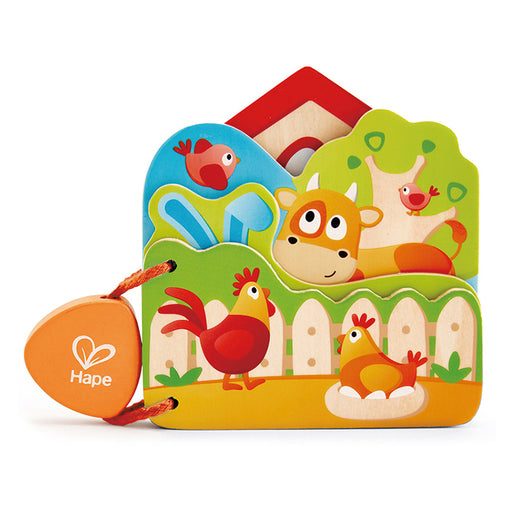Hape Baby's Farm Animal Book