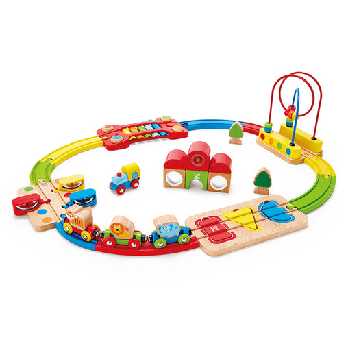 Hape Rainbow Puzzle Railway 30 Piece