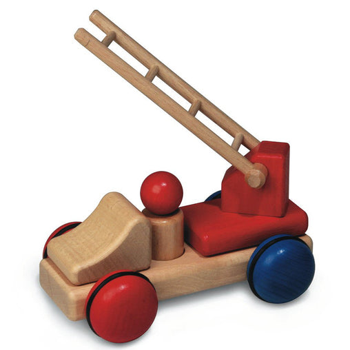 Fagus Wooden Mini Fire Engine