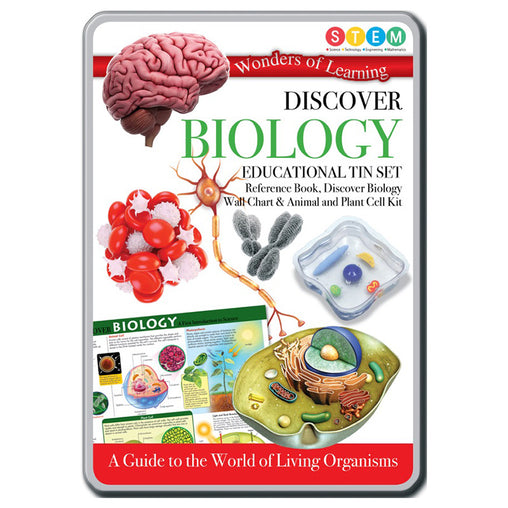 Wonders of Learning Discover Biology Educational Tin Set