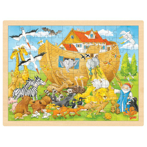 Goki Noah's Ark Puzzle - 96 pieces
