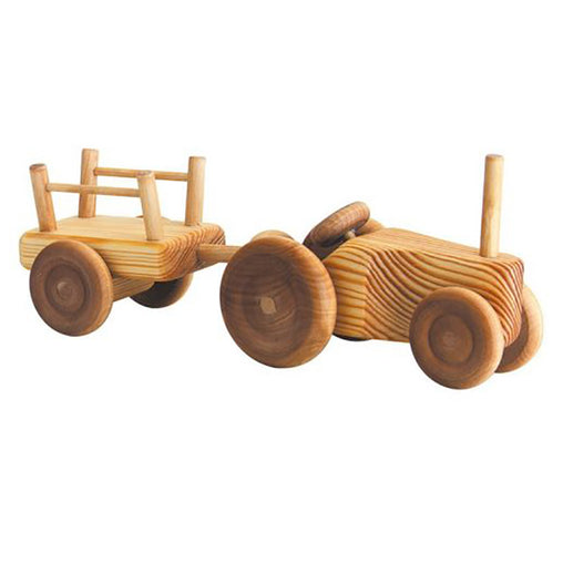 Small Tractor with Cart