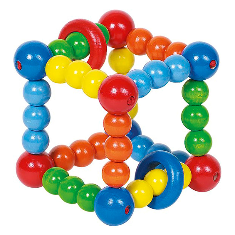 Heimess Touch Ring Rattle Elastic Cube