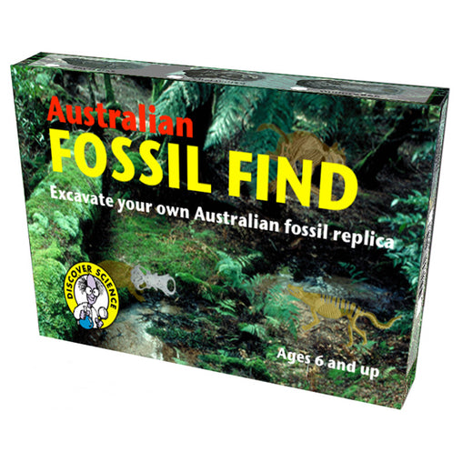Science and Nature Australian Fossil Find Box