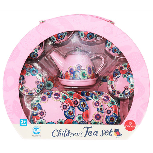 Kaleidoscope Flower Tea Set