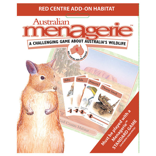 Australian Menagerie - Red Centre Add-On