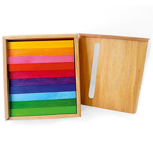 Bauspiel Coloured Rods Box