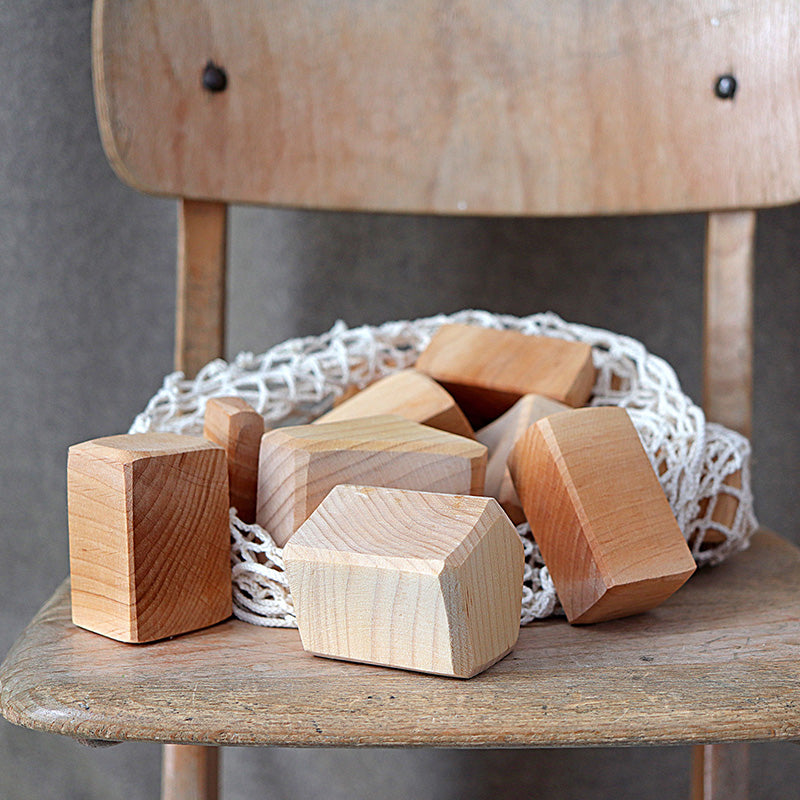 Grimm's Blocks 15 pieces Natural Large Chair