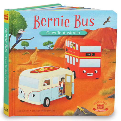 Indigo Jamm Bernie Bus Goes to Australia Book