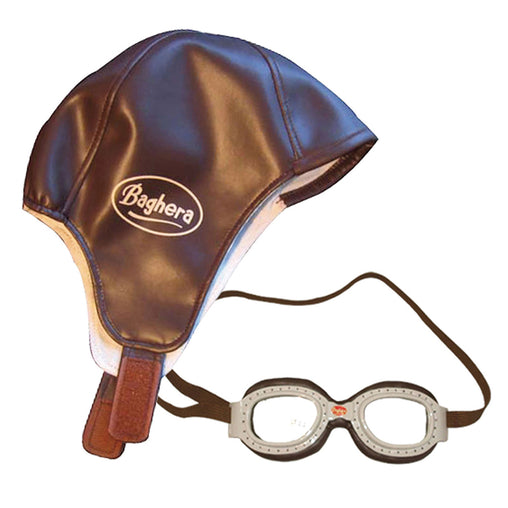 Baghera Helmet and Goggles Race Kit Set