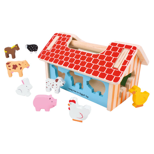 Bigjigs Farm House Sorter