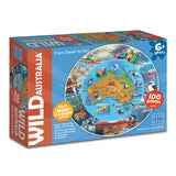 Wild Australia From Desert to Sea 100 piece Puzzle