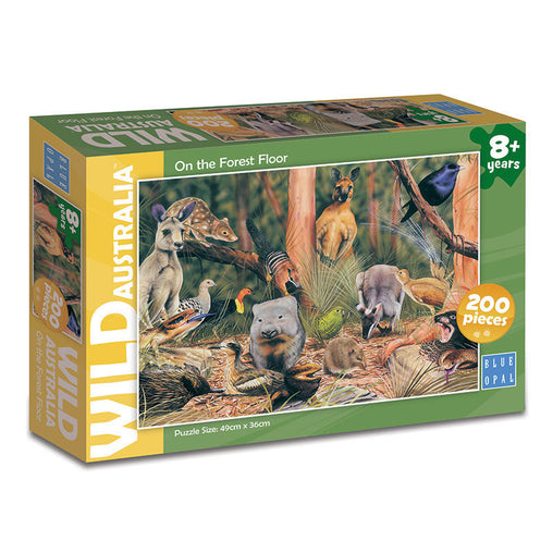 Blue Opal Wild Australia On The Forest Floor 200 Piece Puzzle