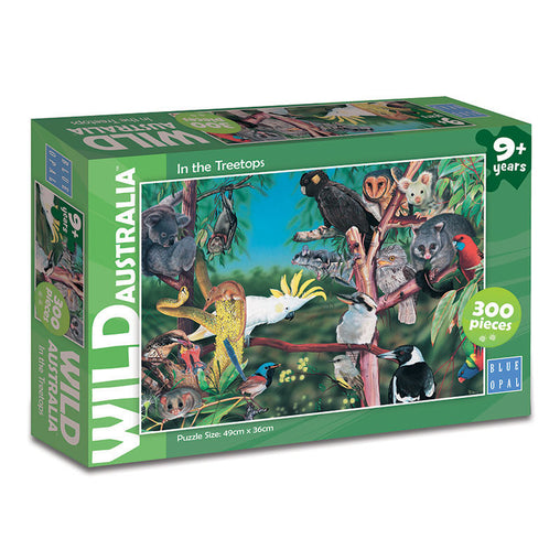 Blue Opal Wild Australia In The Treetops 300 Piece Puzzle