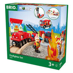 Brio Firefighter Set Packaging