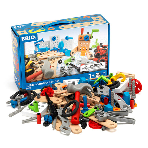 Brio STEM Builder Construction Set 136 piece