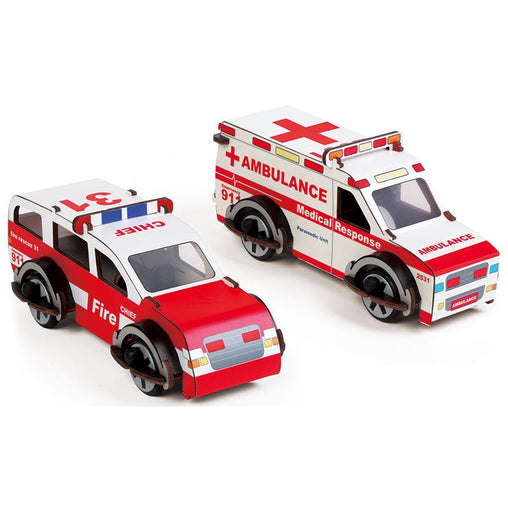 Buildex Rescue Ranger & Medic Machine