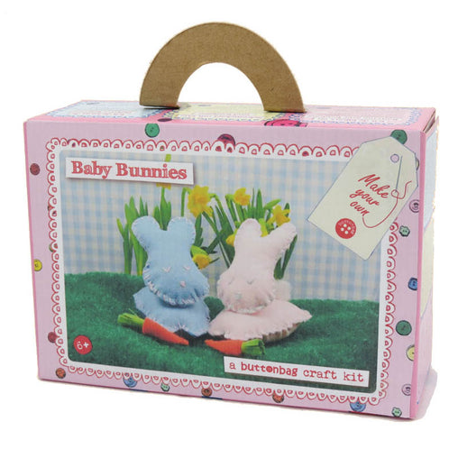 Buttonbag Felt Baby Bunnies Craft Kit Packaging