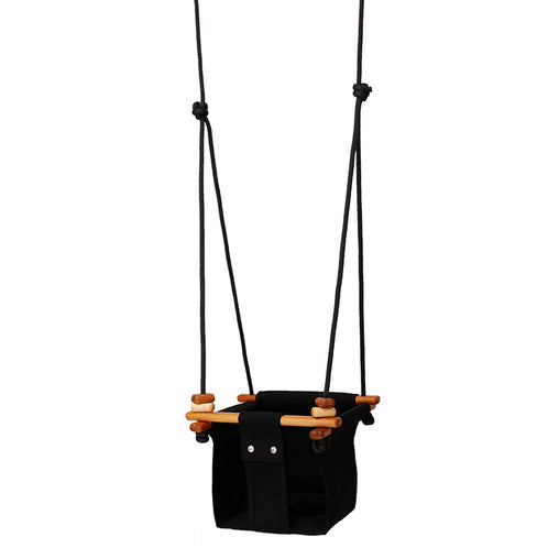 Solvej Baby and Toddler Swing Coral Black