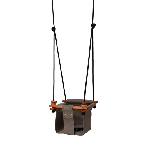 Solvej Baby and Toddler Swing Taupe