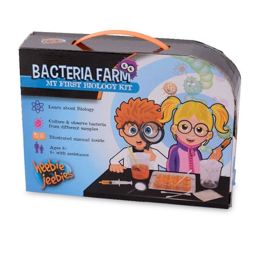 Heebie Jeebies Bacteria Farm My First Biology Science Kit