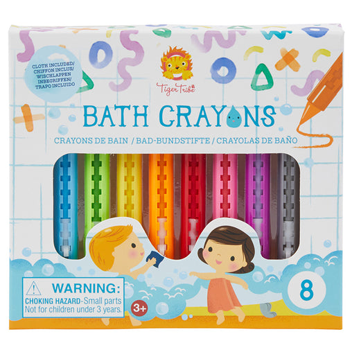 Tiger Tribe Bath Crayons Box