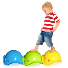 Moluk Bilibo Free Play Toy Red Stepping Stones