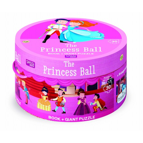Sassi Junior Book & Giant 30 Piece Puzzle The Princess Ball