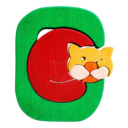 Fauna C for Cat Letter Puzzle