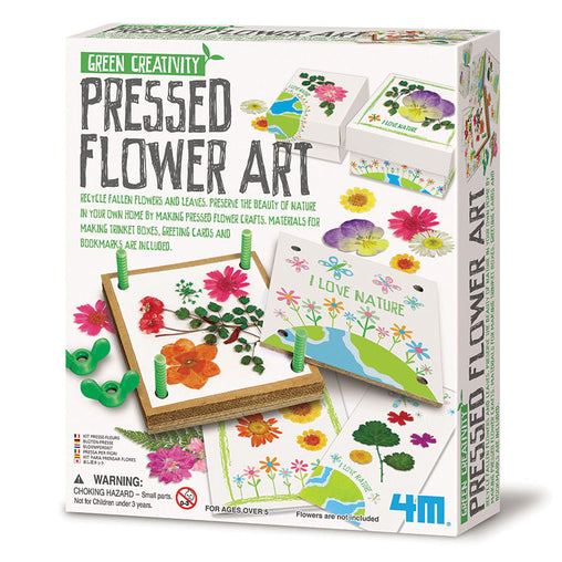 4M Green Science Pressed Flower Art Box