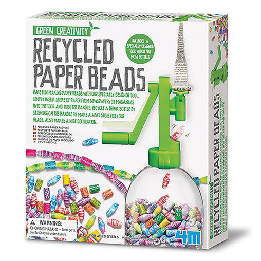 4M Green Science Recycled Paper Beads