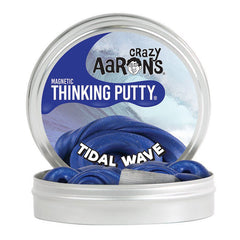 Crazy Aarons Thinking Putty Magnetic Tidal Wave Tin