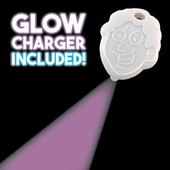 Crazy Aarons Thinking Putty Cosmic Solar Wind Putty with Glow Charger Included
