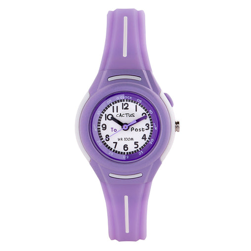 Cactus Watches Time Teacher Purple 100m Watch