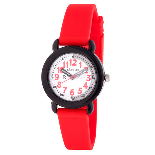 Cactus Watches Time Teacher Red 30m Watch