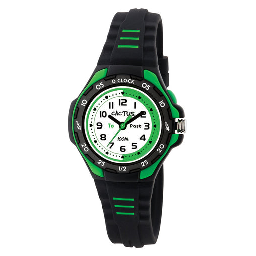 Cactus Watches Time Teacher Black 100m Watch