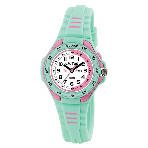 Cactus Watches Time Teacher Mint Green 100m Watch