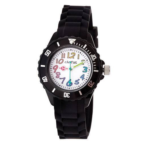Cactus Watches Time Teacher Rainbow Black