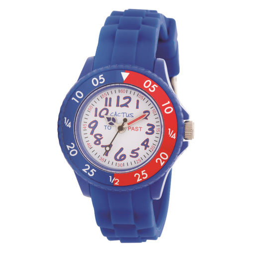 Cactus Watch 30m Teach Dial Blue (CAC-77-M03)