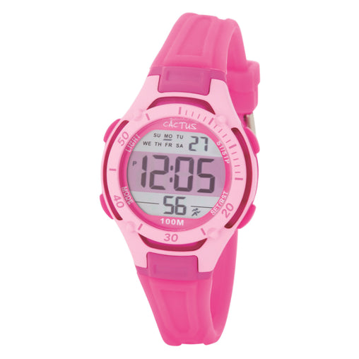 Cactus Watch 100m Wave Tech Digital Pink (CAC-82-M55)